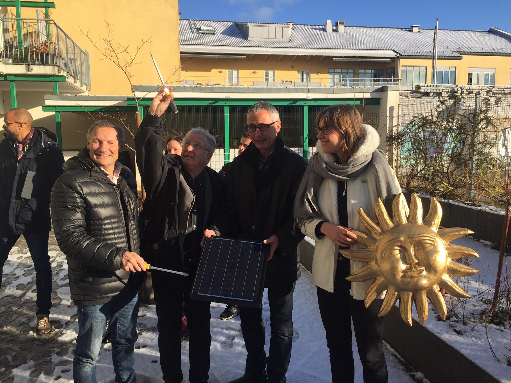 Den stora satsningen på solceller i Sofielund.