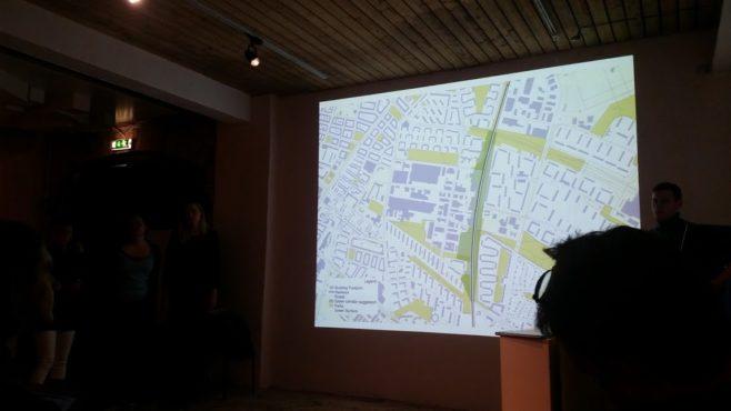 Studenters syn på stadsplanering - karta