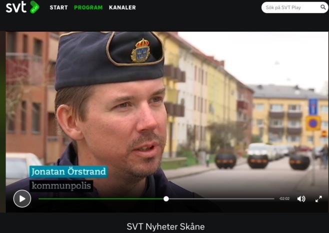 Polisen positiv till utvecklingen i Sofielund