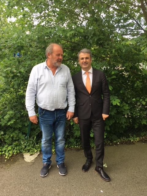 Ministerbesök hos Fastighetsägare Sofielund: samordnings- och energiminister Ibrahim Baylan